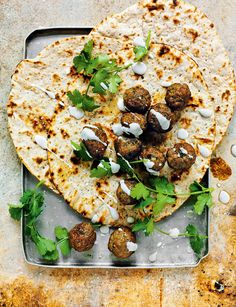 Lamb Koftas in Yogur
