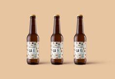 L'abbaye de la Buanderie – Manon Cornaud -  bière, étiquette, packaging, bouteille, graphisme, alcool, design