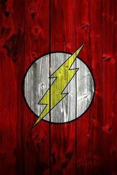 ⚡Simbolo Flash Em Madeira⚡