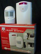 Wireless Receiver Infrared Driveway Remote Doorbell Alarm Alert Security System