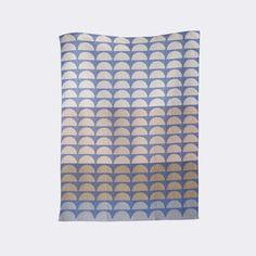 Bridges Tea Towel - Blue