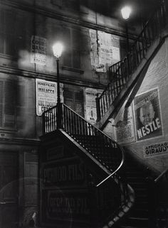 Paris (1930's) | Photographer: Brassai. @Deidra Brocké Wallace