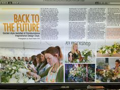 Flowers & magazine  March issue article about Florabundance Inspirational Design Days 2015