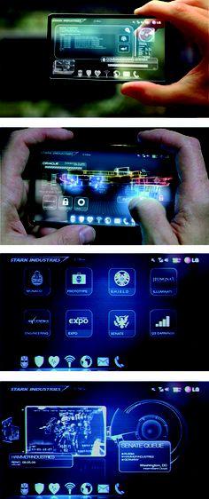 Ironman 2 Interface design