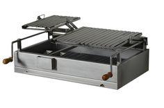 Resultado de imagen para sistema de regulacion manivela Barbecue Design, Grill Design, Grill Oven, Bbq Grill, Grill Grates, Tuscan Grill, Built In Braai, Brick Bbq, Four A Pizza