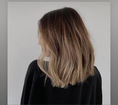Hair Color And Cut, Cool Hair Color, Ombre Hair, Balayage Hair, Brown Blonde Hair, Black Hair, Dye My Hair, Hair Highlights, Hair Looks