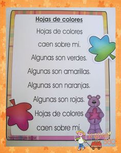Falling leaves- Bilingual resources - Classroom Freebies