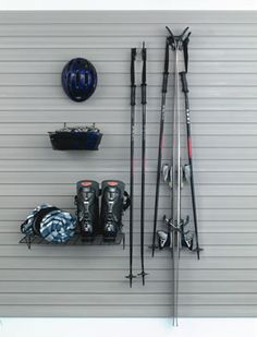 The Garage Store Skate, Snow and Ski, Wall Storage Kit for storeWALL - SlatWall - StoreWall Accessories - - The Garage Store