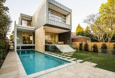 The Box House – Strathfield, NSW, by Zouk Architects