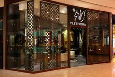 Plethora, an award-winning, artistic perfume lounge was launched in The Dubai Mall, UAE.  #plethora