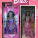 Hands-Free Barbie and Ken in a Box Couple Costume