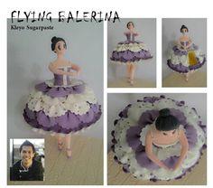 #Kleyo Sugarpaste #Flaying Balerina
