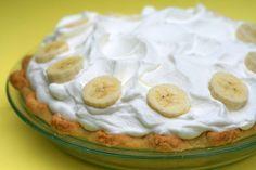 Para un postre clásico americano menos conocido, te doy mi receta para la tarta de crema de plátano mas rica del mundo. Pruébala hoy!