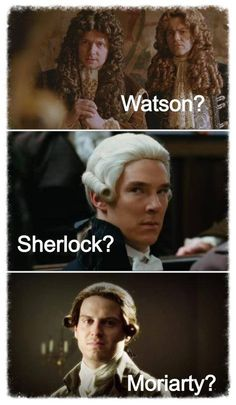 Watson? Lestrade? Sherlock? Moriarty?