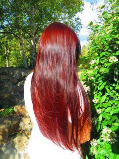 mes soins naturels le henne ravive ma couleur - Soin Naturel Cheveux Colors