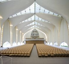 North Shore Congregation Israel synagogue in Glencoe, IL.  Designed by Minoru Yamasaki in 1964. Photograph by William T. Van Pelt