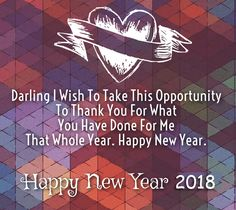 New Year 2020 Wishes for Wife with Images. Best Romantic Happy New Year greetings, Quotes and Wishes to say to your Wife in 2020 and make her special Eve. Happy New Year 2017 Wishes, New Year Wishes Images, New Year Wishes Quotes, New Year Wishes Messages, Messages For Her, Happy New Year Quotes, Happy New Year Greetings, Quotes About New Year, Happy Quotes