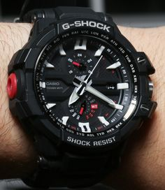 9744574afa5 Casio G Shock Aviation GW A1000 Watch Review casio Relogio Cassio