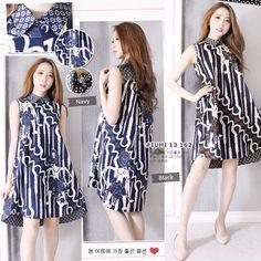 Blouse Batik, Batik Dress, African Wear, African Fashion, Cute Dresses, Dresses For Work, Batik Kebaya, High Low Gown, Batik Fashion