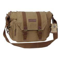 Canvas DSLR SLR Camera Shoulder Bag Backpack Rucksack Bag For Sony Canon Nikon Olympus - For Sale Check more at http://shipperscentral.com/wp/product/canvas-dslr-slr-camera-shoulder-bag-backpack-rucksack-bag-for-sony-canon-nikon-olympus-for-sale/