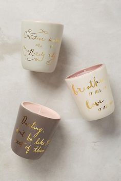 Daintily Defined Candle - anthropologie.com