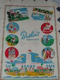 Butlin's tea towel souvenir