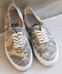 BEAUTY&YOUTH MENS / 【別注】<VANS for BY>∴ DEGICAMO AUTHENTIC/スニーカー(スニーカー) - ZOZOTOWN