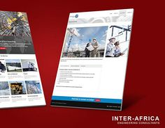 """Check out new work on my @Behance portfolio: """"Inter Africa Consulting"""" http://be.net/gallery/37852079/Inter-Africa-Consulting"""