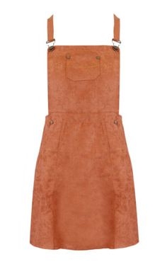 GR078-Womens-Ladies-Plain-Suede-Pinafore-Dungaree-Dress-Skater-A-Line-Mini-Dress