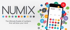We are incredibly proud to have been featured as the APP OF THE DAY BY Appreviewcentral. Numix is a very fun and faced-paced numbers game for iOS and totally free! Get it today and start playing!