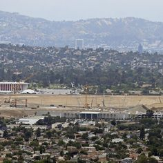 Model images ofLos Angeles Stadium at Hollywood Park, the working name of the soon-to-be-shared home of the Los Angeles Rams and Chargers, were released Tuesday...