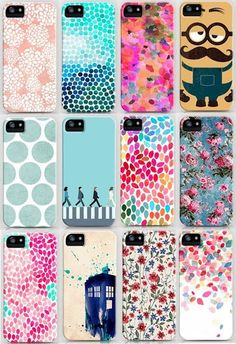Look at all of those beautiful cases