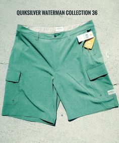 6ae4c9ab6e2fe 🔥🔥Quiksilver Waterman Collection HYBRID Shorts Mens 36-FREE SAME DAY  SHIP🔥🔥