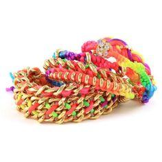 Reader favourite Ettika Friendship bracelets ❤ liked on Polyvore featuring jewelry, bracelets, accessories, pulseras, ettika, ettika jewelry and friendship bracelet