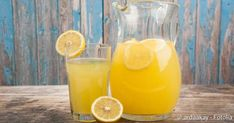 Lemonade with Thermomix Best Smoothie Recipes, Good Smoothies, Refreshing Drinks, Yummy Drinks, Cold Drinks, Essen To Go, Stück Pizza, Turmeric Lemonade, Smoothie