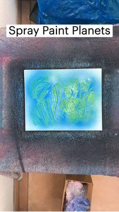 Cute Canvas Paintings, Diy Canvas Art, Spray Paint Art, Spray Painting, A Level Art Sketchbook, Art Drawings Sketches Simple, Diy Arts And Crafts, Decoration, Art Tutorials