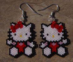 brick stitch earrings patterns free | Brick Stitch Increase and Decrease