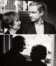 John and Mrs. Hudson - Aww!!