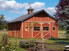 Barn Kits Barns And Monitor On Pinterest