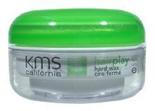 KMS California Hair Play Hard Wax 1.7oz/50ml by KMS. $20.50. Hair play hard wad provides strong flexible hold and separation. This grape and peppermint infused hard wax, with innovative IOPS technology, provides strong pliable hold and separation while adding shine.