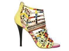 51d02dc8aa5450 Discover this look wearing Yellow Giuseppe Zanotti Shoes - Falling out of  love can be fun.