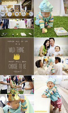 Ben's Wild Rumpus :: Korean First Birthday Party - Baby - Dol - First Birthday. Maybe a book theme. Dr Seuss?