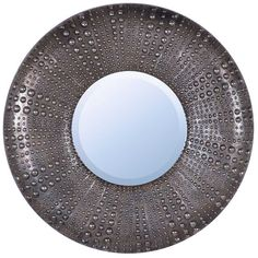 Decor - Large Round Antique Gold Metal Framed Mirror – Hutsly. In a luxury antique gold finish, this large and round mirror would be perfect for a hallway, above a console table or in a guest bathroom.