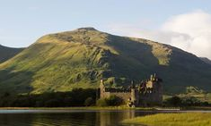 A general view across Loch Awe to Kilchurn Castle.