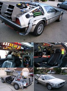 Back to the Future   Flying Time Machine   DeLorean