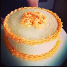 Simple birthday cake: March 2013. .. LIKE us on www. Facebook.com/dreadjscakes