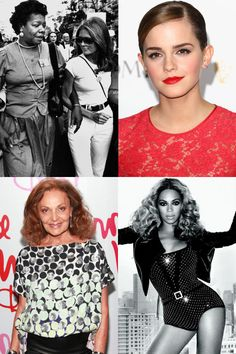 25 Inspiring Women Who Changed The Face of Feminism  - HarpersBAZAAR.com