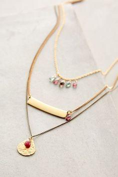 Zephyrine Layered Necklace #AnthroFave