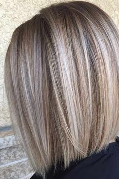 6 Great Balayage Short Hair Looks – Stylish Hairstyles Blonde Balayage Bob, Short Balayage, Bronde Hair, Blonde Ombre, Medium Hair Styles, Short Hair Styles, Blonder Bob, Hair Highlights, Silver Highlights