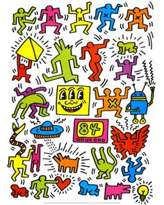 keith haring three eyed - Google Search